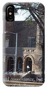 Martin Luther King Jr. And Sixteenth Street Baptist Church IPhone Case