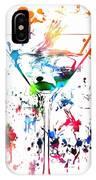 Martini Paint Splatter IPhone Case
