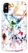 Martini Watercolor  IPhone Case