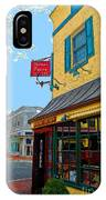 Martins Tavern IPhone Case