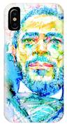 Marvin Gaye - Portrait IPhone Case