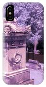 Mary And John Tyler Memorial Near Infrared Lavender And Pink IPhone Case