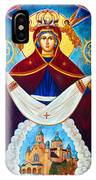 Mary And The Holy Church IPhone Case