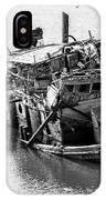 Mary D Hume Shipwreck - Rogue River Oregon IPhone Case