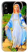 Mary In Sunlight IPhone Case