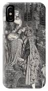 Mary Magdalene At The Door Of Simon IPhone Case