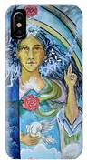 Mary Magdalene Watercolor IPhone Case