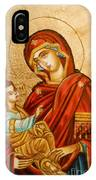 Mary With Jessus R.1 IPhone Case