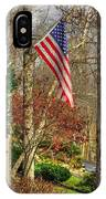 Maryland Country Roads - Flying The Colors 1a IPhone Case