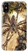 Brown Fishing Spider IPhone Case