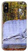 Maryland Monument At Gettysburg IPhone Case