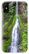 Marymere Falls - Full View IPhone Case
