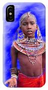 Masai IPhone Case