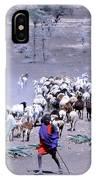 Masai Herder Boy IPhone Case