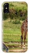 Masai Mara Wildlife Scene IPhone Case