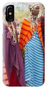 Masai Women Kenya IPhone Case