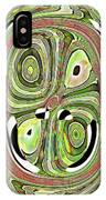 Mask 10 Curled Up IPhone Case