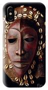 Mask From Ivory Coast IPhone Case