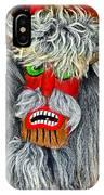 Masks. Next To Bran Castle - Dracula's Castle.  IPhone Case