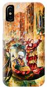 Masks Of Venice IPhone Case