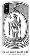Massachusetts State Seal IPhone Case