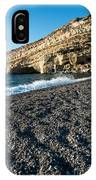 Matala Beach IPhone X Case
