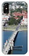 Matanzas Harbor St Augustine Florida IPhone Case