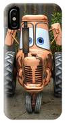 Mater's Tractor IPhone Case