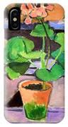 Matisse's Pot Of Geraniums IPhone Case