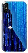 Matrix Neo Keanu Reeves IPhone Case