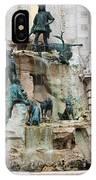 Matthias Fountain In Budapest IPhone Case