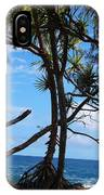 Maui Tree Silhouette IPhone Case