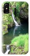 Maui Waterfall 1 IPhone Case
