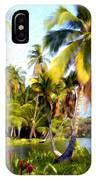 Mauna Lani Fish Ponds IPhone Case