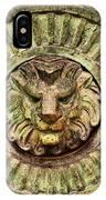 Mausoleum Lion IPhone Case
