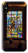 Mausoleum Stained Glass 01 IPhone Case