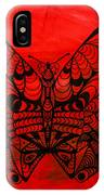 Max The Butterfly IPhone Case