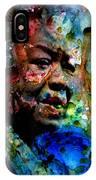 Maya Angelou Paint Splash IPhone Case
