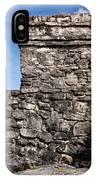 Mayan Building At Tulum IPhone Case