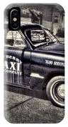 Mayberry Taxi IPhone Case