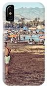 Mazarron Beach - Murcia Spain IPhone Case