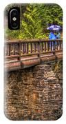 Mcdonald Creek Bridge IPhone Case