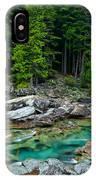 Mcdonald Creek In Glacier National Park IPhone Case