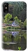 Mcintosh Lake In Washington IPhone Case