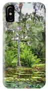 Mckee Botanical Gardens IPhone Case