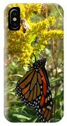 Me And The Bee IPhone Case