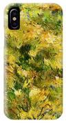 Meadow After Van Gogh IPhone Case