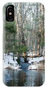 Meadow Brook Pond 1 IPhone Case