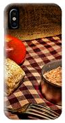 Meager Lunch IPhone Case