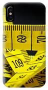 Measures IPhone Case